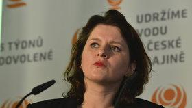Eurovolby 2019: Ministryně práce a sociálních věcí Jana Maláčová (ČSSD)