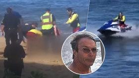Thomas Smiley byl na Havaji napaden žralokem. Útok nepřežil.