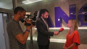 Eurovolby 2019: Dita Charanzová při rozhovoru pro Blesk ve štábu ANO