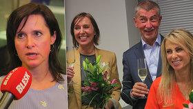 """Za Babišovo ANO budou nově """"kopat"""" v Bruselu hned tři ženy: Radka Maxová se přidala ke dvojici Dlabajová–Charanzová."""