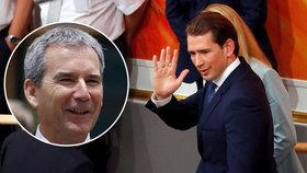 Kurzovu kabinetu byla vyslovena nedůvěra, prozatím jej nahradí ministr financí Hartwig Löger z lidové strany (ÖVP).