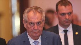 Prezident Miloš Zeman na Žofínském fóru (28.5.2019)
