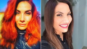 Eva Decastelo se vrátila zpět k hnědé barvě vlasů!