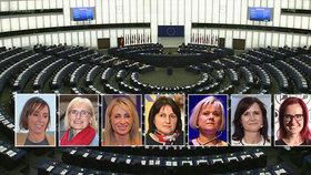 V novém europarlamentu bude zasedat rekordní počet žen, stále však dominují muži. Česko reprezentuje 7 političek