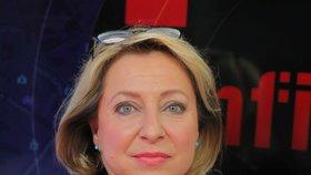 Režisérka dokumentární cyklu ČT Infiltrace Šárka Maixnerová v Epicentru