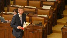 Andrej Babiš v Poslanecké sněmovně (4. 6. 2019)