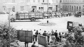 Srpen 1968 v Žatci