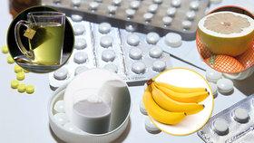 Pozor na kombinování léků s potravinami