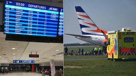 6 hodin zpožděné letadlo do Egypta: Na palubě umřel člověk, tvrdí cestující.