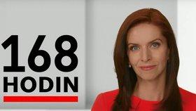 Moderátorka Nora Fridrichová připravuje na ČT pořad 168 hodin