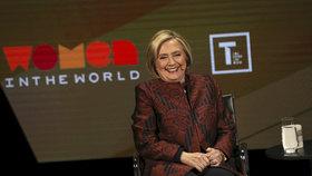 Hilary Clintonová, bývalá prezidentská kandidátka