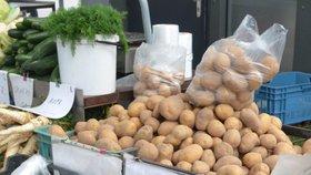 Ceny brambor neustále rostou, meziročně už jsou dražší o 88 procent.