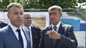 Premiér Andrej Babiš (ANO) na návštěvě Zlínského kraje, kde promluvil mimo jiné o svém názoru na demonstrace konané proti jeho osobě. (12. 6. 2019)