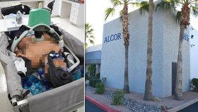 Kryogenická společnost Alcor čelí žalobě