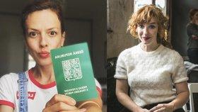 Andrea Kerestešová Růžičková má v Česku povolení k trvalému pobytu, zabydlela se tu i Vica Kerekes