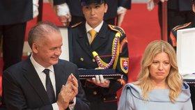 Inaugurace nové slovenské prezidentky Zuzany Čaputové (15. 6. 2019)