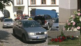 Pohřeb taxikářky Máji (†53)