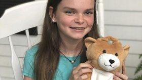 Ella (12) vymyslela veselé obaly na infuze: Chci pomoct jiným dětem, aby zvládaly léčbu