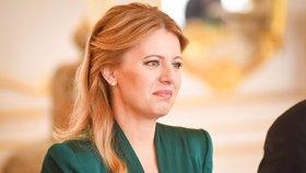 Slovenská prezidentka Zuzana Čaputová se setkala při své první zahraniční cestě na Pražském hradě setkala také s některými členy české vlády