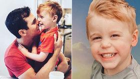 Zpěvák zveřejnil fotku svého syna