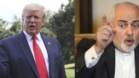 Trump stále nevylučuje úder proti Íránu, chystá další sankce