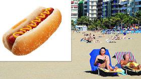 Osmiletý chlapec se na Kanárských ostrovech udusil hot dogem