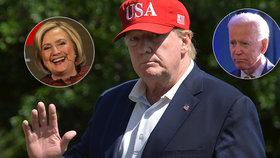 Trump není připraven na prohru u voleb, je ale rád, že proti němu stojí Biden a ne Hillary.