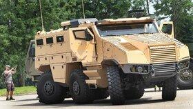 Armáda podepsala smlouvu na dodávku vozidel Titus za 6 miliard korun. Na snímku transportér Titus, (ilustrační foto).