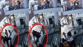 Chlapce zabil eskalátor. Shodil jej z 15 metrů.