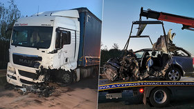 Smrtelná nehoda na Kladensku.