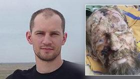 """První foto muže z """"medvědího brlohu"""": Alexandr je vážně nemocný"""