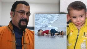 Osud chlapce ze známé fotografie inspiroval film s hercem Stevenem Seagalem.