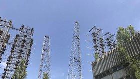 Jaderná elektrárna v Černobylu