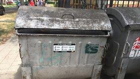 Bezdomovec našel v popelnici na sídlišti v Karviné mrtvolku novorozence.