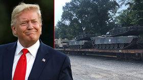 Donald Trump se dočkal vysněné vojenské přehlídky, na Den nezávislosti se Washingtonem projedou tanky.