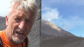 Reportér se vydal na Etnu