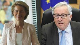 Předseda Evropské komise (EK) Jean-Claude Juncker dnes kritizoval způsob výběru své nástupkyně v čele unijní exekutivy, německé ministryně obrany Ursuly von der Leyenové, jako nepříliš transparentní