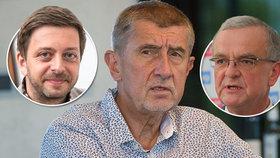 Do premiéra Andreje Babiše (ANO) se ve Sněmovně pustili Vít Rakušan (STAN) a tradičně i Miroslav Kalousek (TOP 09)