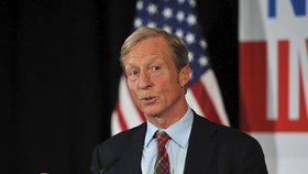 O demokratickou prezidentskou nominaci se uchází miliardář Steyer