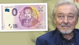 Obrovská pocta Karlu Gottovi: Jeho tvář bude na eurobankovkách!