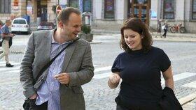 Místopředsedové ČSSD Michal Šmarda a Jana Maláčová