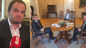 Osud kandidáta ČSSD na ministra kultury Michala Šmardy budou se Zemanem řešit znovu Babiš i Hamáček.