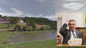 Mynář dostal pokutu za načerno postavený rybník. Na milion se sankce nevyšvihla.