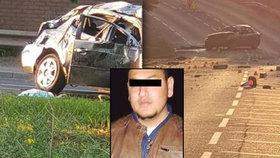 Marek zemřel při tragické nehodě před benzinkou.