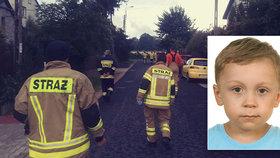 Do pátrání po Davídkovi se zapojili i dobrovolní hasiči