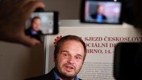 Kandidát na post ministra kultury a místopředseda ČSSD Michal Šmarda (15. 7. 2019)