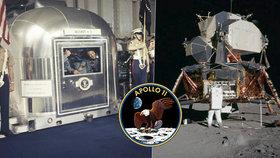 Svět si připomíná 50 let od přistání na Měsíci: 11 zajímavostí o Apollu 11