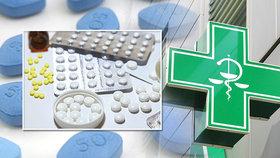 V lékárnách chybí řada léků, včetně viagry.