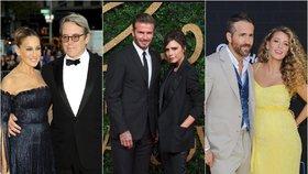 Láska z Hollywoodu: Víte, jak se daly dohromady tyto slavné páry?