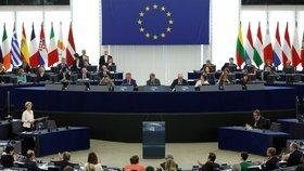Ve Štrasburku europoslanci v tajné volbě rozhodují, zda německá politička von der Leyenová má jejich podporu k nástupu do čela Evropské komise (16. 7. 2019).